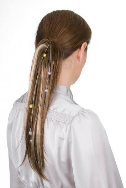 Haarteil Coconut in verschiedenen Farben