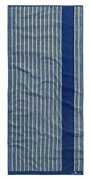 "Tom Tailor Handtuch Vitality Towel ""Stripes"" navy, 2er-Set"