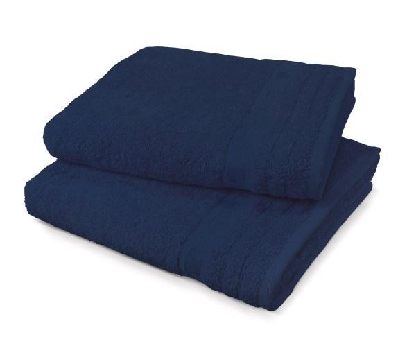 """Tom Tailor Handtuch Uni Basic Towels """"Blue Stars"""", 2er-Set"""