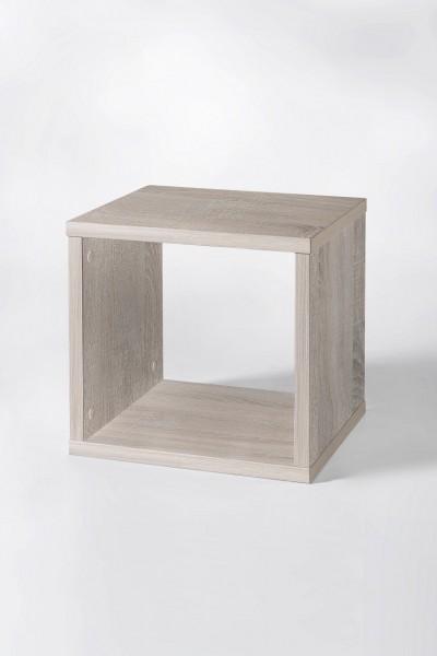 "Regal ""Toni 2"", Sonoma Eiche Dekor, Würfel-Form, 35 x 35 x 32,5 cm"