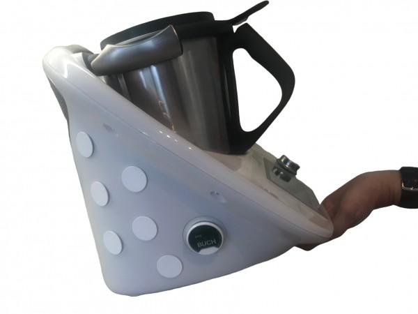 Mixti für Thermomix TM5 und TM6, unsichtbarer Gleiter, Thermomixzubehör, inkl Reinigungstuch