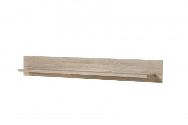 """Wandboard """"Montreux"""", Grandson Oak hell NB, 150 x 20 x 17 cm, Wandregal, Wohnzimmer"""