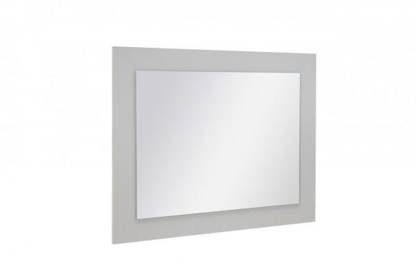"Wandspiegel ""Elena 3"", weißes Dekor, Spiegel, 70 x 59 x 2 cm"