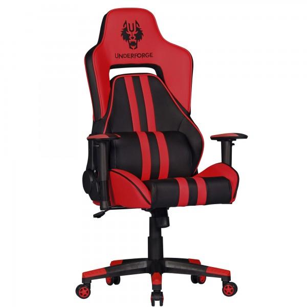 """Bürostuhl """"Alexander"""", schwarz/rot, Kunstleder, Schreibtischstuhl, Gamingstuhl, Sessel"""