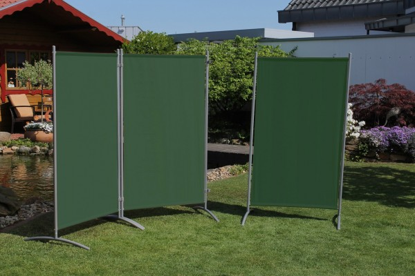 "Stellwand 3 teilig ""Static"" B H ca260x156cm Raumteiler Sichtschutz"