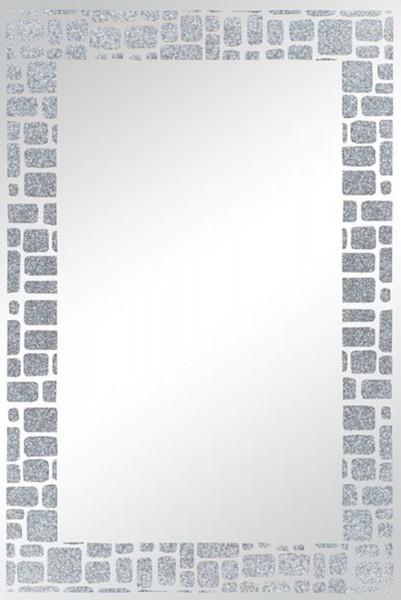"""Spiegelprofi 30034600 Siebdruckspiegel LEA Siebdruckspiegel """"Miriam"""" mit Glitzer, ohne Rahmen, ca. 40 x 60cm Spiegel"""