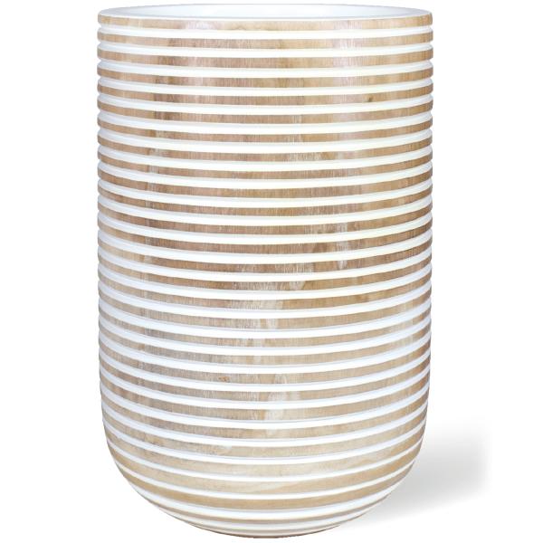 Woddy Honey Pflanzengefäß Ø 35 x H 50 cm - Unikat Handgemacht