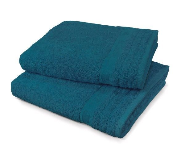 "Tom Tailor Duschtuch Uni Basic Towels ""Blue Stars"""