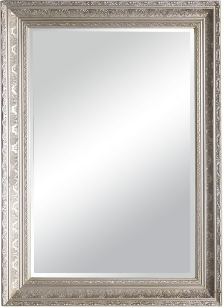 "Spiegelprofi 60277106 Holzrahmenspiegel Ramona X Rahmenspiegel ""Laura"", altsilber, mit Holzrahmen, ca. 78 x 108cm Spiegel"