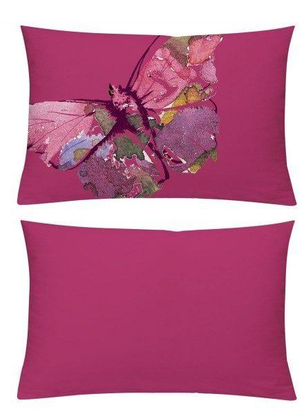 Kissenhülle Schmeterling pink