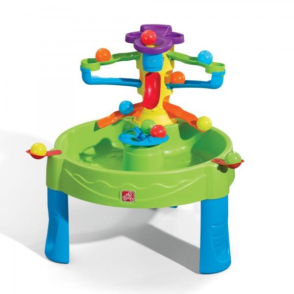 """Wasserspieltisch """"Fredi"""" aus Kunststoff 80x80x70,8cm Sand- und Wassertisch"""