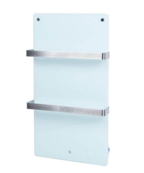 """Infrarot-Badezimmerheizung """"Phil"""" Handtuchhalter 17,5x25x29cm weiß 400W Wi-Fi Heizung Infrarotheizun"""