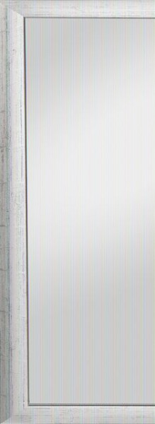 Beauty Scouts Spiegel Wandspiegel Rahmenspiegel Inès silber glänzend 52x142 cm