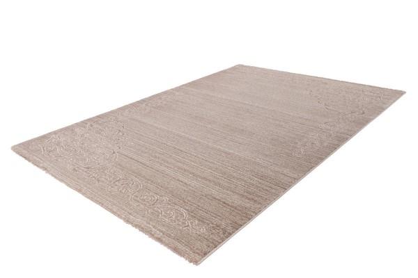 """Kurzflorteppich """"Blair"""" beige Glanzfäden 80x150cm 160x230cm 80x300cm 200x290cm Teppich"""