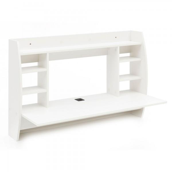 """Wandtisch """"Maria"""" weiß Melaminharzbeschichtet 110x75x48,5cm Schreibtisch Tisch"""