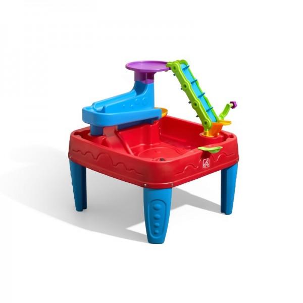 """xWassertisch """"Coluso"""" aus Kunststoff in bunt 76x71x78cm Ball Freunde Spieltisch"""