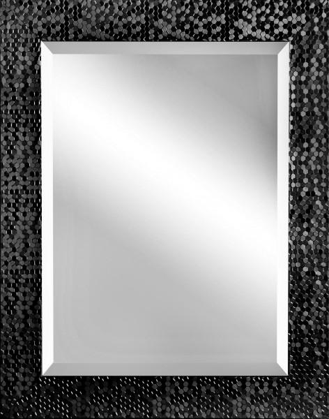 """Spiegelprofi 60465704 Rahmenspiegel JENNY Rahmenspiegel """"Mareike"""", schwarz, mit Facette, ca. 55 x 70cm Wandspiegel Spiegel"""
