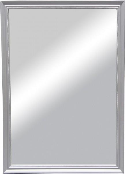 """Beauty.Scouts Wandspiegel """"Koge II"""", Rahmenspiegel Klarglas silber inkl. Aufhänger 50x70cm"""