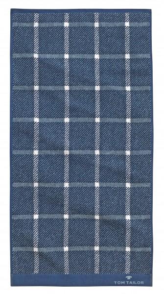 """Tom Tailor Handtuch 2er-Set """"Ricky"""", 50 x 100 cm, navy, Badezimmertuch, Badezimmer"""