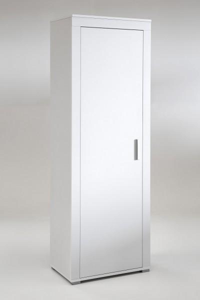 """Garderobenschrank """"Lacy 3"""", weißes Dekor, 1 Tür, 60 x 181,5 x 37 cm"""
