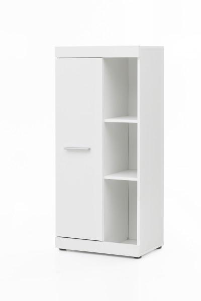 """Anstellschrank """"Amandus"""", weiß, 50 x 114,5 x 32,5 cm, Wohnzimmer, Wohnzimmerschrank, Schrank"""