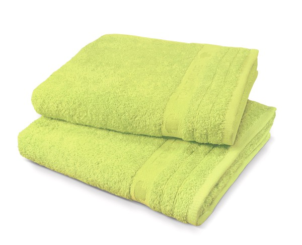 "Tom Tailor Duschtuch Uni Basic Towels ""Green Stars"""