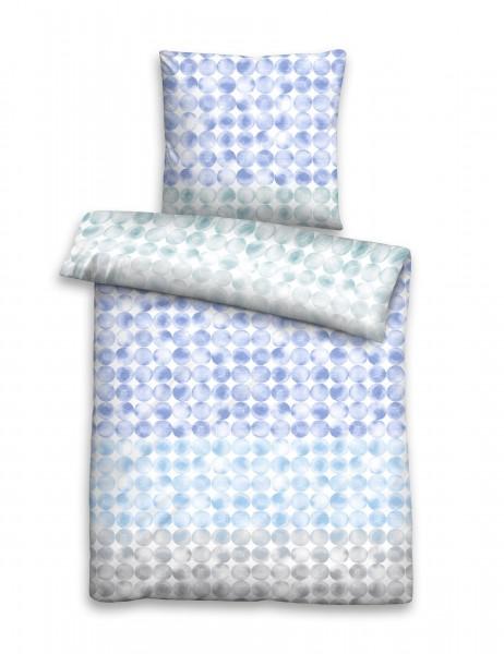 """Beauty.Scouts Linon-Bettwäsche """"Vroni"""", eisblau, 135 x 200 cm, Bettwäsche, Schlafzimmer"""