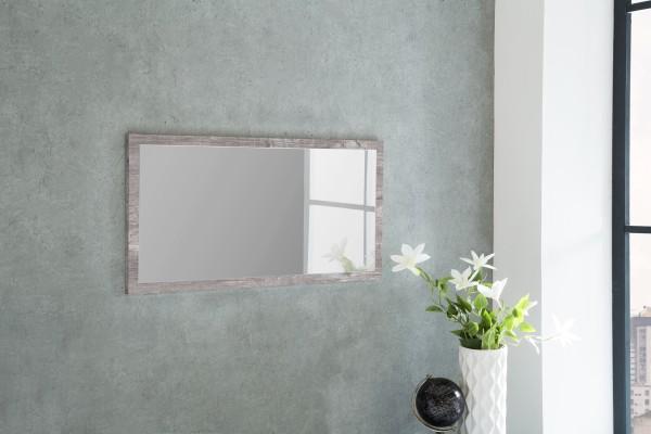 """Spiegel """"Peter 1"""", Beton, 76 x 38 x 2 cm, mit Rand, Spiegelfläche 71 x 33 cm"""