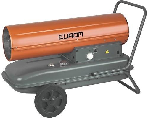 """Ölkanone """"Alfa"""" grau/orange 92,4x50,6x58,6cm 37KW Ölofen Heizung Werkstattheizung"""