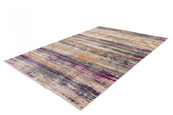 """Teppich """"Belina"""" mehrfarbig modernes Design pflegeleicht verwischte Farbstreifen"""