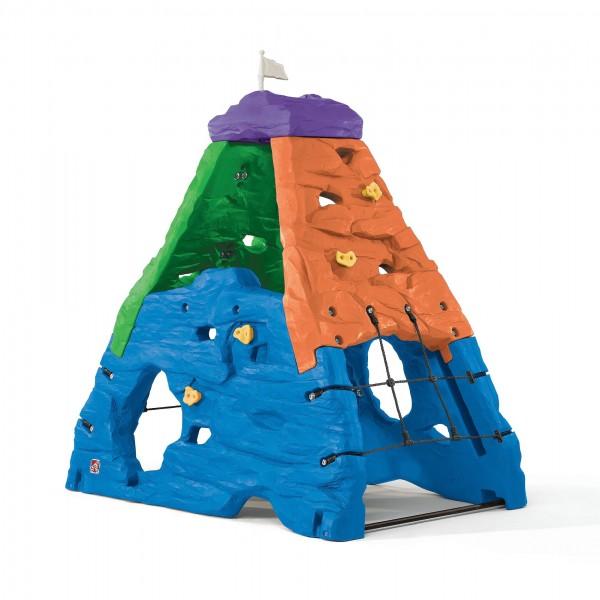 "Kletterwand ""Trudi"" aus Kunststoff 132,1x203,2x203,2cm bunt Kinderkletterwand"