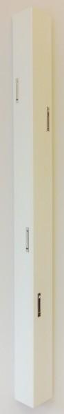 "Wandgarderobe ""Fiete"", 115 x 12 x 8 cm, weiß HG, Garderobe, Flurgarderobe, Flur"