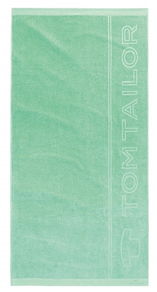 "Tom Tailor Beach Towel Strandtuch ""Tom Tailor Logo Star"", 90x180 cm, mint"