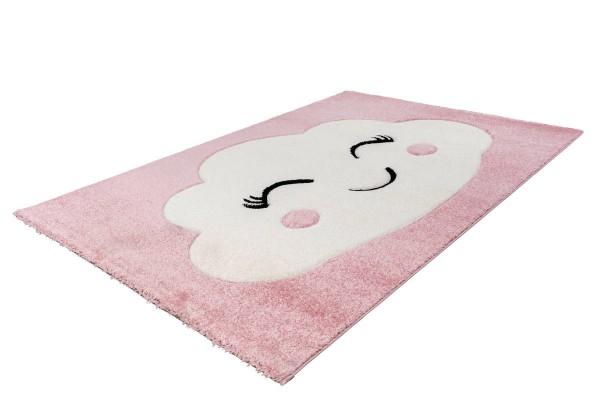 """Kinderteppich """"Dream"""" rosa 80x150cm 120x170cm Teppich Kurzflorteppich Spielteppich"""