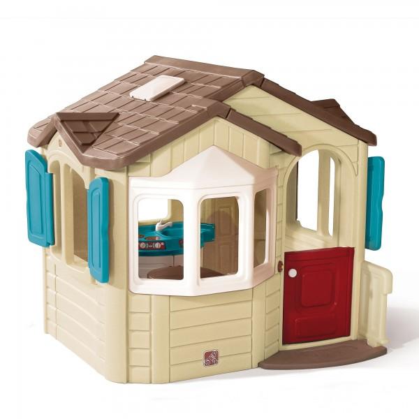 "Kinderspielhaus ""Lucky"" aus Kunststoff 167,6x185,4x167,7cm in bunt"