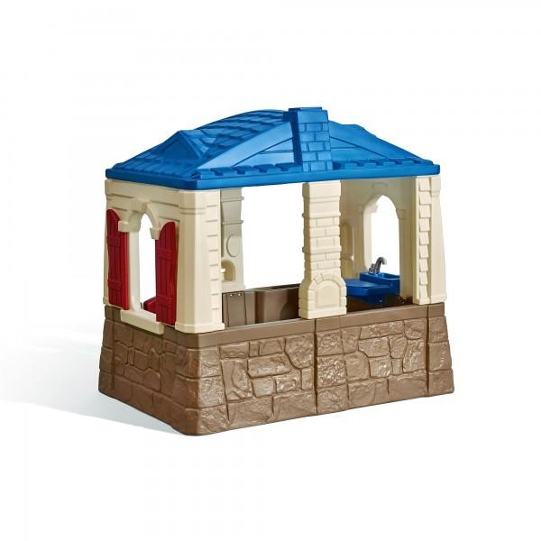 "Kinderspielhaus ""Noa"" aus Kunststoff 88,9x129,5x118,1cm naturfarben"