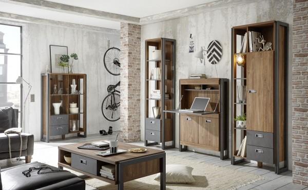 Wohnwand, Wohnzimmerkombination, Wohnzimmer, IndustrieDesign,  Java Living VI, Beauty.Scouts, Kombination