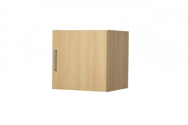 """Aufsatz-/Hängeschrank """"Tine"""", Buche Dekor, 1 Tür, 40 x 40 x 39 cm"""
