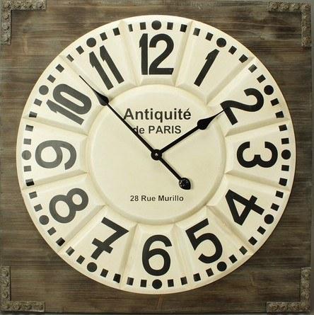"Wanduhr ""Antigua"" MDF 68x68 cm"