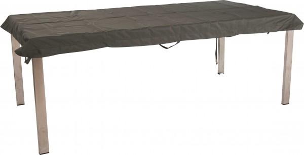 """Tisch-Schutzhülle """"Isidro"""", grau, 83x133x5cm, Gartentischschutzhülle, Tischschutzhülle, Garten"""