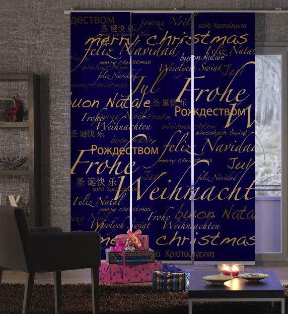Schiebevorh Nge Weihnachten Fl Chenvorh Nge