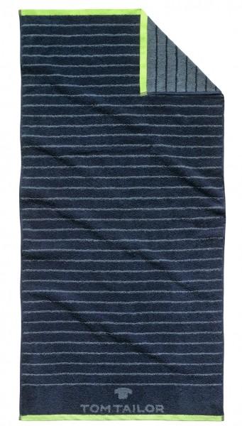 """Tom Tailor Duschtuch """"Anke"""", 70 x 150 cm, navy, Badezimmerduschtuch, Badezimmer"""