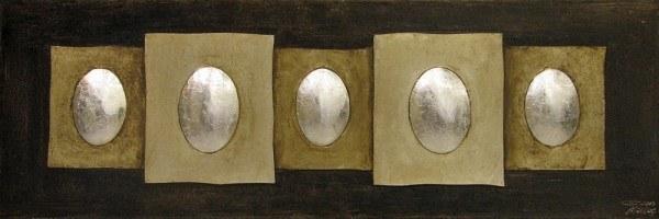 Handgefertiges Ölgemälde Gemälde Lesueur 150 x 50 cm