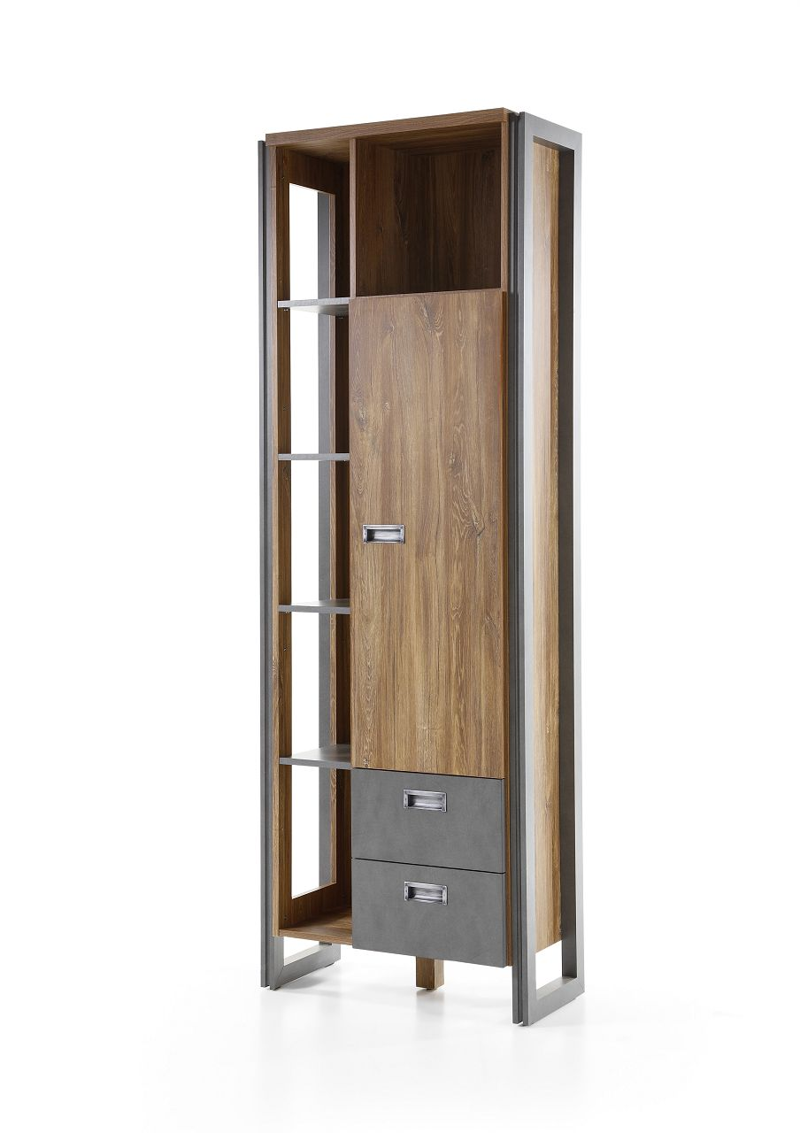 hohes regal java living iii standregal stirling oak nachbildung 70x202x35cm beauty scouts. Black Bedroom Furniture Sets. Home Design Ideas