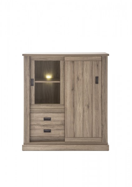Highboard, Kommode, Wohnzimmer, Madera I, Beauty.Scouts, San Remo Eiche