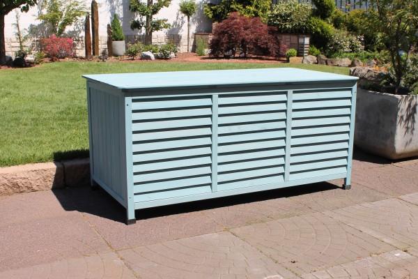 """Kissenbox """"Vintage"""" Holz mint Kissenbox Polsterbox Polstertruhe"""