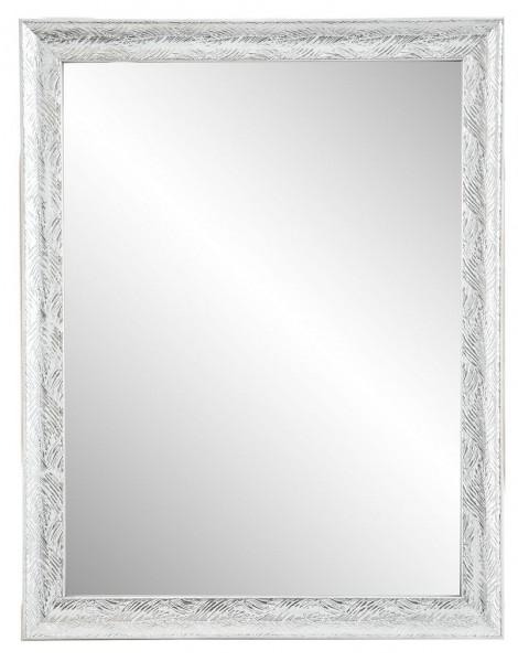 """Rahmenspiegel """"Linus"""" silberfarben 35 x 45  cm Wandspiegel Spiegel Wanddekoration"""