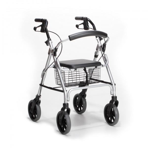 Rollator Ligero Leichtgewicht 55 x 67 x 81-89,5cm (B/T/H) schwarz