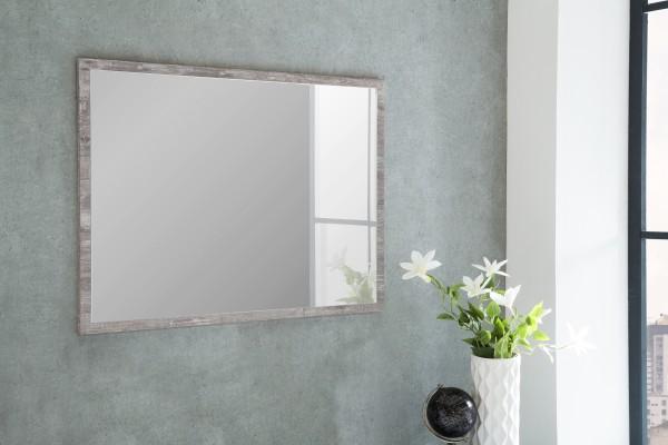 """Spiegel """"Betty 1"""", Beton, 90 x 65 x 2 cm, mit Rand, Spiegelfläche 85 x 60 cm"""