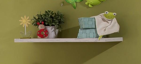 """Wandboard, Wandregal, Schlafzimmer, Babyzimmer, Diele, Flur, """"Vienna"""", Beauty.Scouts, Weißeiche,"""